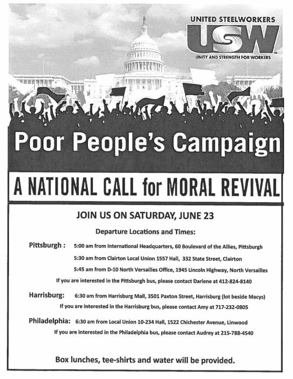 Poor People's Campaign DC 2018